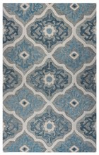 Home Afrozz Home Afrozz Napoli Gray Transitional Rug NP1005