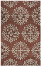 Home Afrozz Home Afrozz Napoli Coral Transitional Rug NP1010