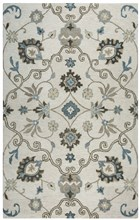 Home Afrozz Home Afrozz Napoli Beige Transitional Rug NP1013