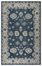 Home Afrozz Home Afrozz Napoli Blue Traditional Rug NP1020