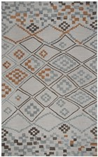 Home Afrozz Home Afrozz Plymouth Gray Contemporary Rug PM1000