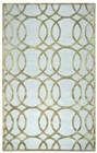 Home Afrozz Home Afrozz Madison Ivory/Cream Geometric Rug MI1003