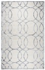 Home Afrozz Home Afrozz Madison Cream Geometric Rug MI1010