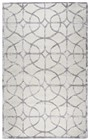 Home Afrozz Home Afrozz Madison Ivory Geometric Rug MI1015