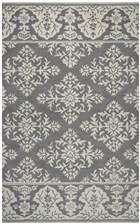 Home Afrozz Home Afrozz Lourdes Gray Transitional Rug LU1006