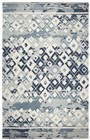 Home Afrozz Home Afrozz Lourdes Gray Transitional Rug LU1010