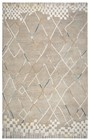 Home Afrozz Home Afrozz Lourdes Natural  Transitional Rug LU1011