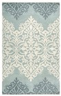 Rizzy Home  Marianna Fields Transitional Blue - Green Rug MF9444