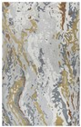 Home Afrozz Home Afrozz Lapis Gray Contemporary Rug LP1003