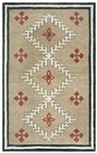 Home Afrozz Home Afrozz Durango Brown Southwest Rug DR1002