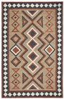 Home Afrozz Home Afrozz Durango Brown Southwest Rug DR1003