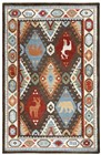 Rizzy Home  Northwoods Lodge Brown Rug NWD102