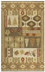 Rizzy Home  Northwoods Lodge Brown Rug NWD105