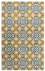 Home Afrozz Home Afrozz Holland Yellow Transitional Rug HO1006