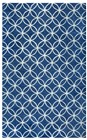 Home Afrozz Home Afrozz Holland Blue Transitional Rug HO1000