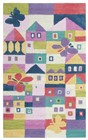 Home Afrozz Home Afrozz Playground Pink Youth Rug PG1003