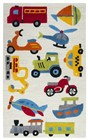 Home Afrozz Home Afrozz Playground Ivory  Youth Rug PG1014
