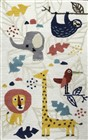 Home Afrozz Home Afrozz Playground Ivory  Youth Rug PG1015