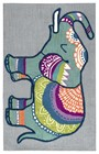 Home Afrozz Home Afrozz Makalu Gray Transitional Rug MK1015