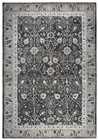 Home Afrozz Home Afrozz Swagger Black Traditional  Rug SW1004