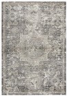 Home Afrozz Home Afrozz Swagger Gray Traditional  Rug SW1010
