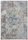 Rizzy Home  Princeton Transitional Blue-Cream Rug PRI101