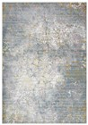 Rizzy Home  Princeton Transitional Blue-Gray Rug PRI106