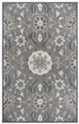 Home Afrozz Home Afrozz Cascade Dark Taupe Transitional Rug CD1007