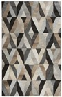 Home Afrozz Home Afrozz Makalu Gray Transitional Rug MK1013