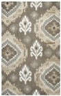 Home Afrozz Home Afrozz Makalu Brown Transitional Rug MK1016
