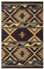 Home Afrozz Home Afrozz Ryder Multi Southwest Rug RY1008