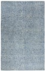 Home Afrozz Home Afrozz Storm Blue Solid Rug ST1000