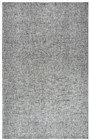 Home Afrozz Home Afrozz Storm Dark Gray Solid Rug ST1005