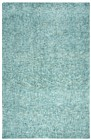 Home Afrozz Home Afrozz Storm Teal Solid Rug ST1006