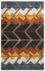 Home Afrozz Home Afrozz Plymouth Multi Geometric Rug PM1008
