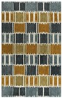 Rizzy Home  Tetra Transtional Gray Rug TET101