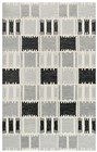 Rizzy Home  Tetra Transtional Gray Rug TET103