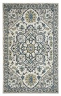 Home Afrozz Home Afrozz Liberty Ivory/Cream Traditional Rug LB1000