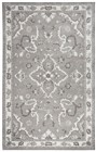 Home Afrozz Home Afrozz Liberty Gray Traditional Rug LB1001