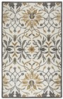 Home Afrozz Home Afrozz Liberty Gray Transitional Rug LB1005