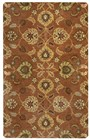 Home Afrozz Home Afrozz Liberty Rust Transitional Rug LB1014