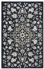 Home Afrozz Home Afrozz Liberty Black Transitional Rug LB1022