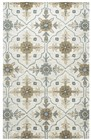 Home Afrozz Home Afrozz Liberty Taupe Transitional Rug LB1025