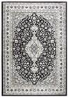 Home Afrozz Home Afrozz Shiraz Black Traditional  Rug SZ1013