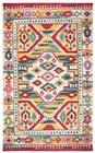 Home Afrozz Home Afrozz Sapphire Natural  Boho Rug SP1011