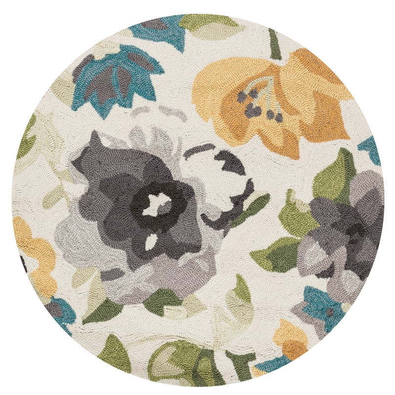 Loloi FRANCESCA FC39 GREY / YELLOW Rug