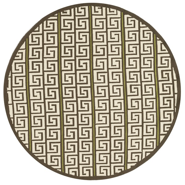Loloi PALM_SPRINGS PM05 BROWN / GREEN Rug