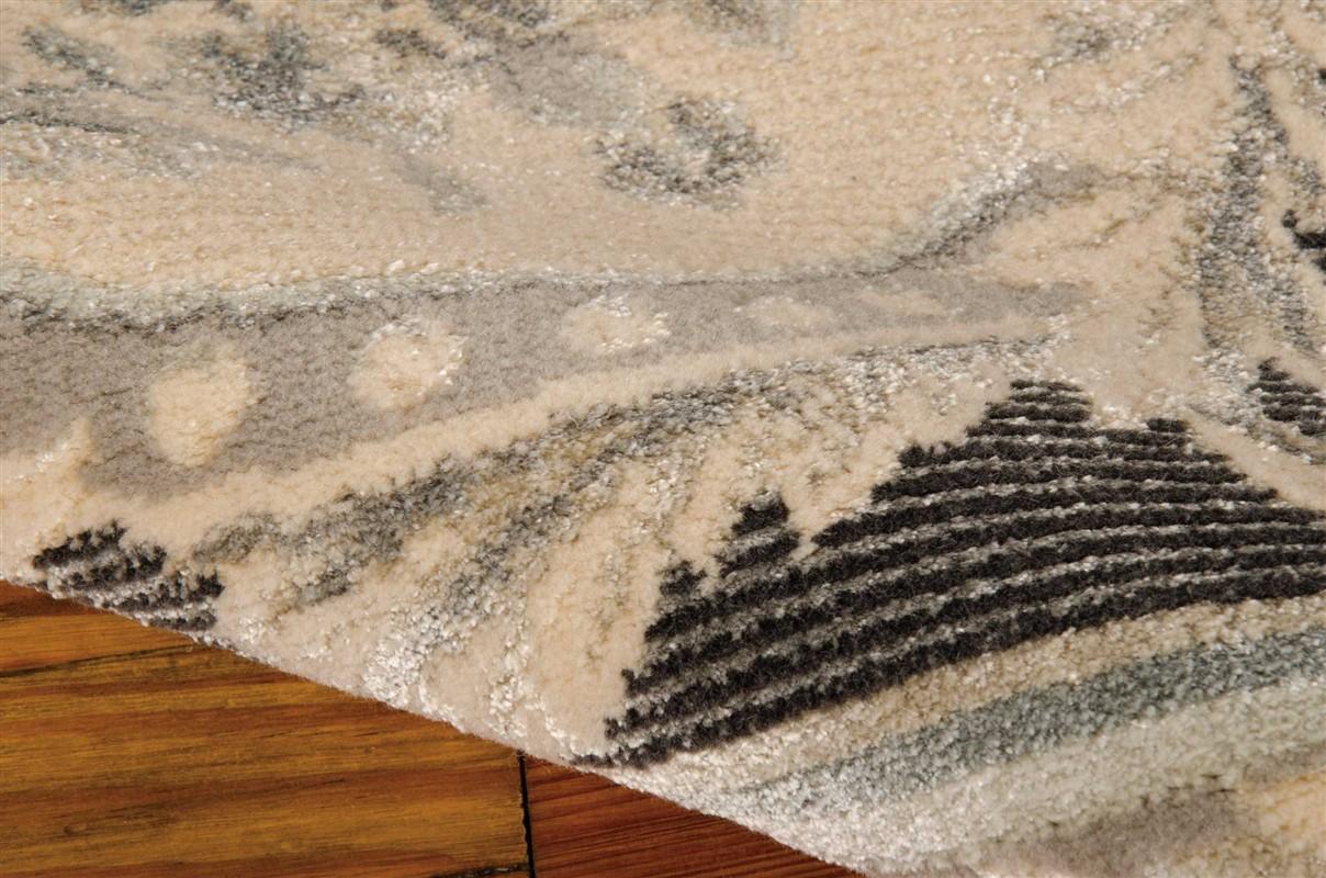 MICHAEL AMINI PLATINE CHARCOAL AREA RUG BY NOURISON