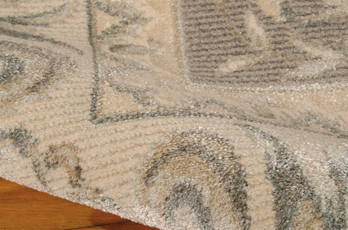 MICHAEL AMINI PLATINE SLATE AREA RUG BY NOURISON