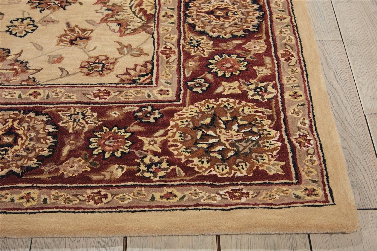 Nourison Nourison 2000 2204  Ivory Traditional Area Rug